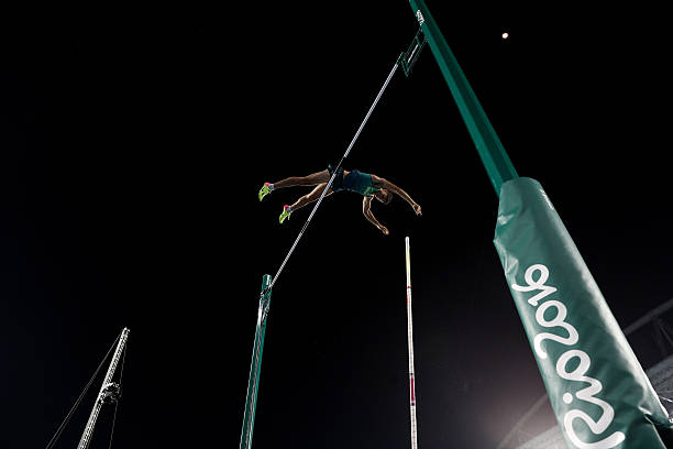 ডা সিলভা জিতেছেন অলিম্পিক রেকর্ড গড়ে। ছবি: গেটি ইমেজেস